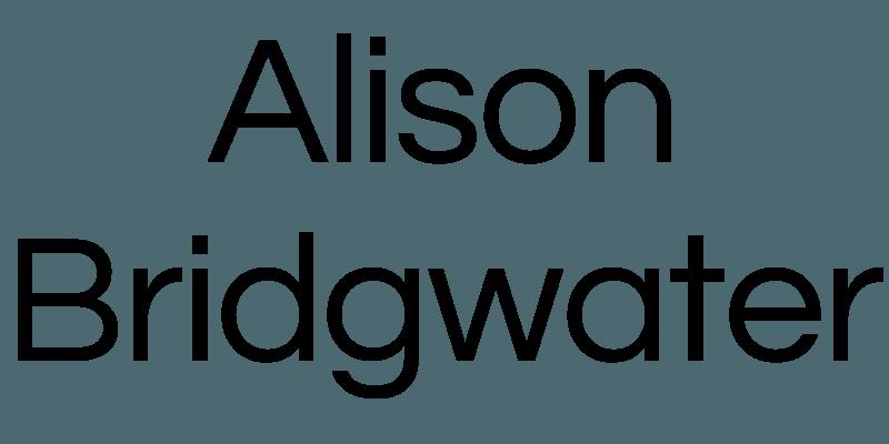 Alison Bridgwater